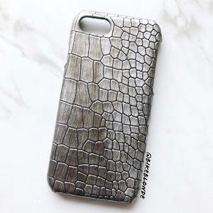 NEW iPhone 7/8 Soft Snakeskin Textured Case